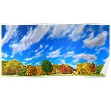 Splendor of Fall Poster