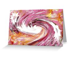 Turbulence abstract 130- Art + Design products Greeting Card
