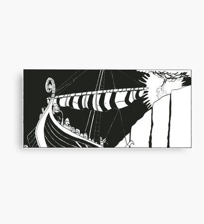 """Vikings """"Escape"""" Canvas Print"""