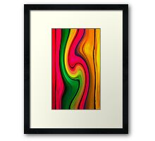 Between the Lines -abstract 129- Art + Design products Framed Print