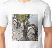 Humboldt Penguin Peeking Unisex T-Shirt