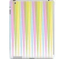 Pastel Retro Triangle Trim iPad Case/Skin