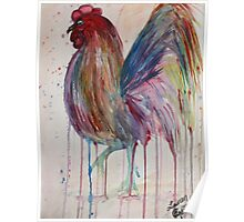 Southern Rooster Poster
