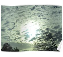 March 2 2015 Sun & Clouds Poster