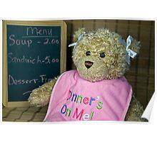 Dinner's On Me Poster