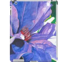 Big Blue Clematis iPad Case/Skin