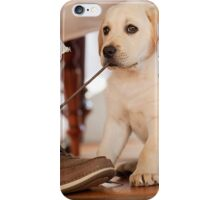 Naughty puppy iPhone Case/Skin