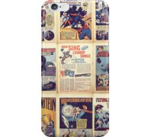 PD comics wall graphic iPhone Case/Skin