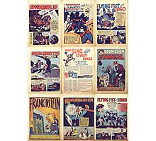 PD comics wall graphic Photographic Print