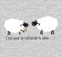 Le chewing gum des moutons by akwel