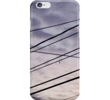 Power Lines iPhone Case/Skin