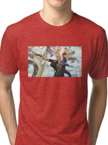Watson, catch! Tri-blend T-Shirt