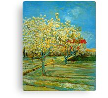 'Orchard' by Vincent Van Gogh (Reproduction) Canvas Print