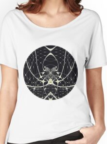 Golden Spiderweb Women's Relaxed Fit T-Shirt