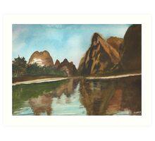 Yangshuo China Art Print