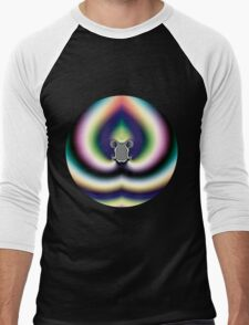 Psychedelic Heart Men's Baseball ¾ T-Shirt