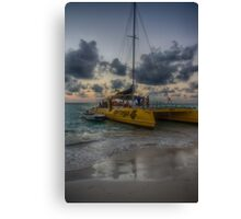 This Evening's Party Cruise Canvas Print