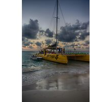 This Evening's Party Cruise Photographic Print