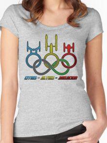 Citius - Altius - Audacior Women's Fitted Scoop T-Shirt