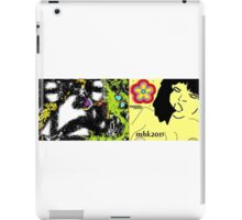 the lamb and the eagle - ruffled feathers and torn pages 2 iPad Case/Skin