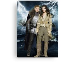 Snow White and Prince Charming Canvas Print