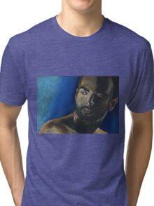 portrait of a man Tri-blend T-Shirt
