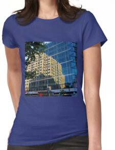 Evening reflection Womens Fitted T-Shirt