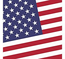 American Flag July 4th Party Photographic Print
