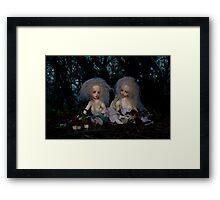 Wood Nymphs Framed Print