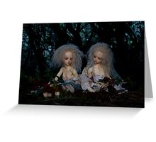 Wood Nymphs Greeting Card