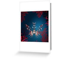 NOCTURNAL CREATURE Greeting Card