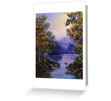 Calm Water Greeting Card