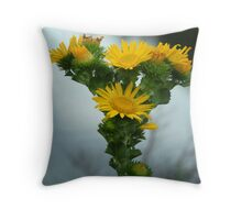 A Bouquet on One Stem Throw Pillow