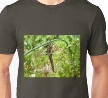 Resting Dragonfly on Wild Garlic Unisex T-Shirt