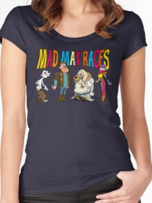 Mad Max Races Women's Fitted Scoop T-Shirt