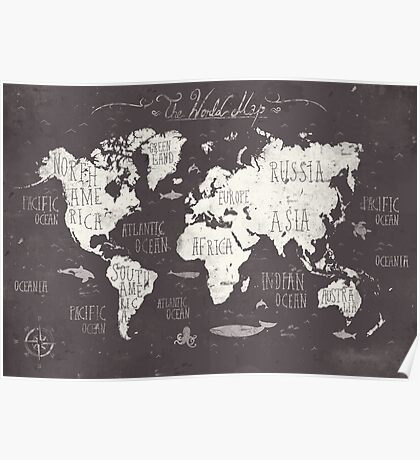 The World Map Poster