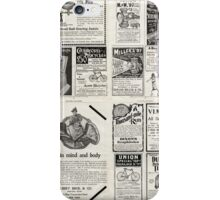 Retro Ad Wall iPhone Case/Skin