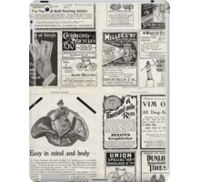 Retro Ad Wall iPad Case/Skin