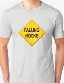 Falling in love rocks T-Shirt