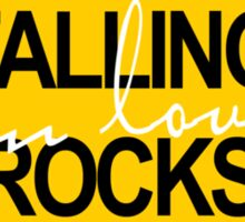 Falling in love rocks Sticker