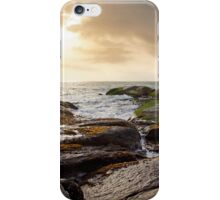 a short time before sunset iPhone Case/Skin