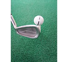 Hole in One Photographic Print