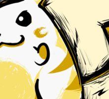 Pikachu   Thundershock Sticker