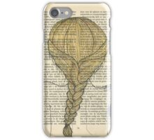 The Girl And The Peacock Feather iPhone Case/Skin