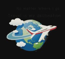 Travel is my destination One Piece - Long Sleeve