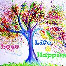 Love, Life & Happiness by artshop77