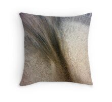 Feelings in the Sand Throw Pillow