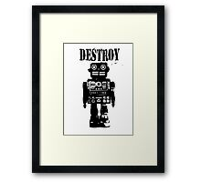 Destroy 01 Framed Print
