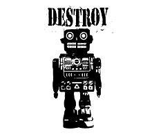 Destroy 01 Photographic Print