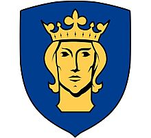 Stockholm Coat of Arms  Photographic Print